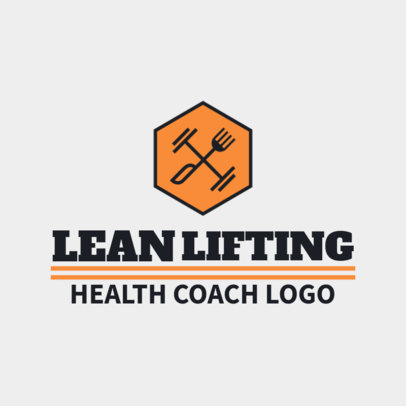 Online Logo Generator for a Sports Coach
