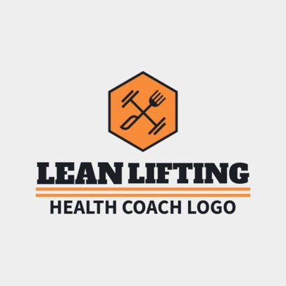 Online Logo Generator for a Sports Coach 2458f