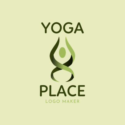 Modern Logo Maker for a Yoga Brand 2459c