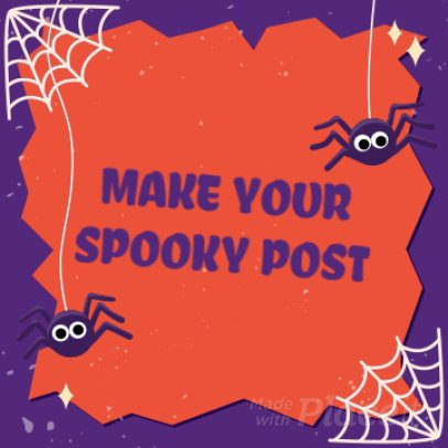 Spooky Instagram Video Maker with Halloween Theme 1877