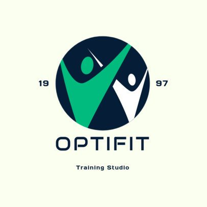 Fitness Logo Generator for an Established Training Studio 2457g