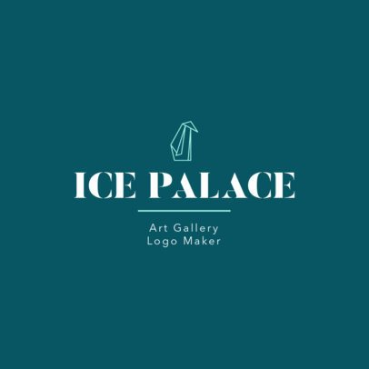 Abstract Logo Template for an Art Gallery 1330g-2477