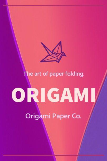Pinterest Pin Maker for an Origami Tutorial 1121a--1762