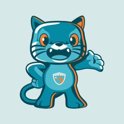 Mascot Maker for a Volleyball Team 2381b