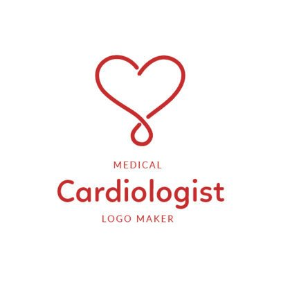 Online Logo Maker for a Cardiologist 2510