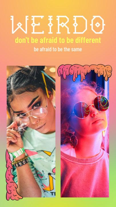 Trendy Grime Art Instagram Story Maker 955c--1762