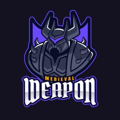DOTA 2 Inspired Online Logo Maker of a Medieval Warrior 2499ff