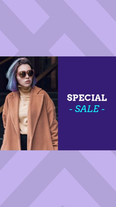 Instagram Story Template for a Special Sale 967e--1762