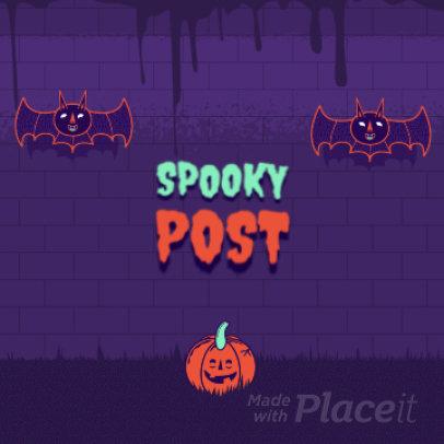 Instagram Post Video Maker for Halloween Season 1864