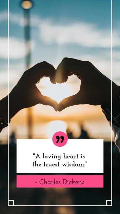 Valentine's Day Instagram Story Maker for Love Quotes 1045c