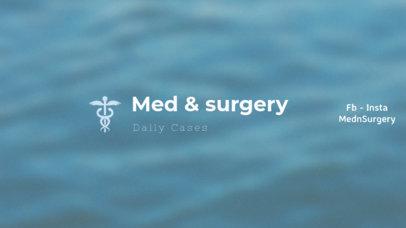 YouTube Banner Maker for Medical Content 403e--1762