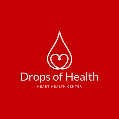 Online Logo Maker for a Heart Disorders Clinic 2510f