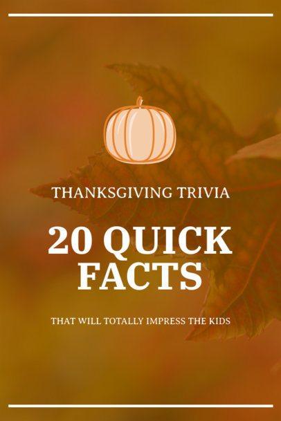 Pinterest Pin Generator for a Thanksgiving-Themed Trivia 1768e