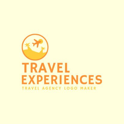 Modern Logo Creator for Travel Agencies 2504c