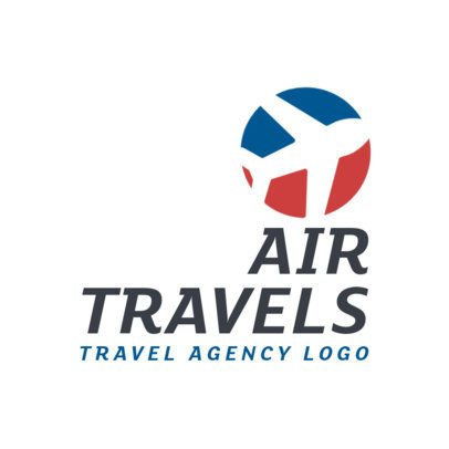 Logo Maker for an International Travel Agency 2504d