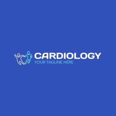 Cardiology Center Logo Maker 2509a