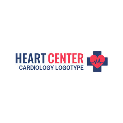 Logo Generator for a Heart Center 2509b