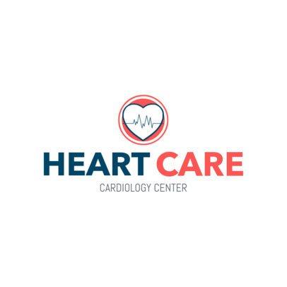 Medical Logo Maker for a Cardiology Center 2508