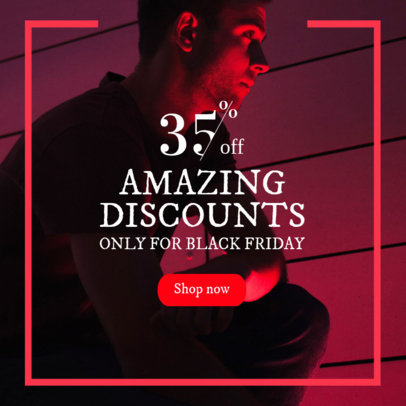 Online Banner Maker For an Amazing Black Friday Sale 362k-1783