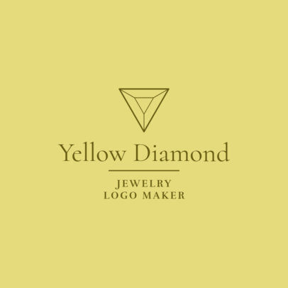 Minimalist Logo Maker for a Jewelry Store 2191f-2535