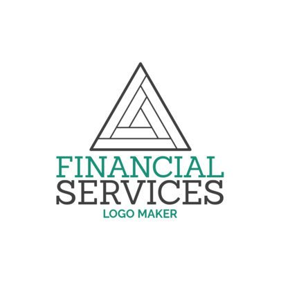 Minimalist Logo Template for a Financial Services Agency 1175k-2535