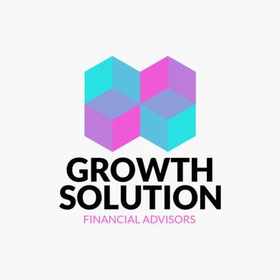 Logo Maker with Geometric Shapes 1519c
