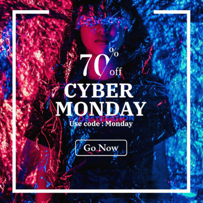 Online Banner Maker For an Amazing Cyber Monday Sale 362l 1794