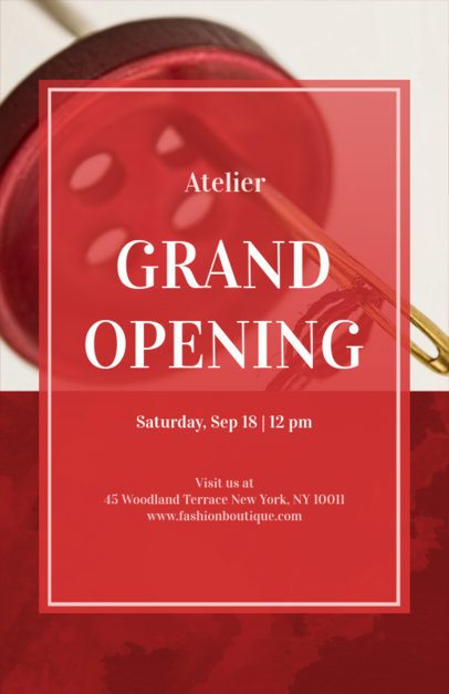 Grand Opening Online Flyer Maker 161a-1903