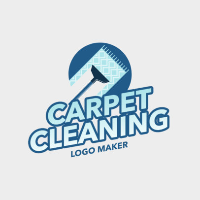 Fresh Logo Template for a Carpet Cleaning Business 2549