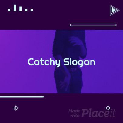 Instagram Video Maker Featuring Dynamic Animated Transitions 1534b 291