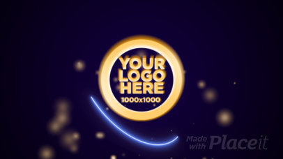 Logo Reveal Intro Maker with a New Year Countdown 1971