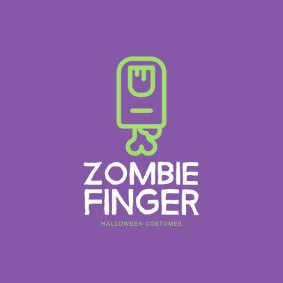 Halloween-Themed Logo Maker for a Costume Store 1320e-7-el