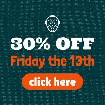 Online Banner Maker for a Special Halloween Offer 755l-7-el