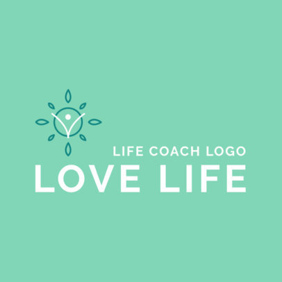 Abstract Logo Generator for Life Coaching Services 2552c