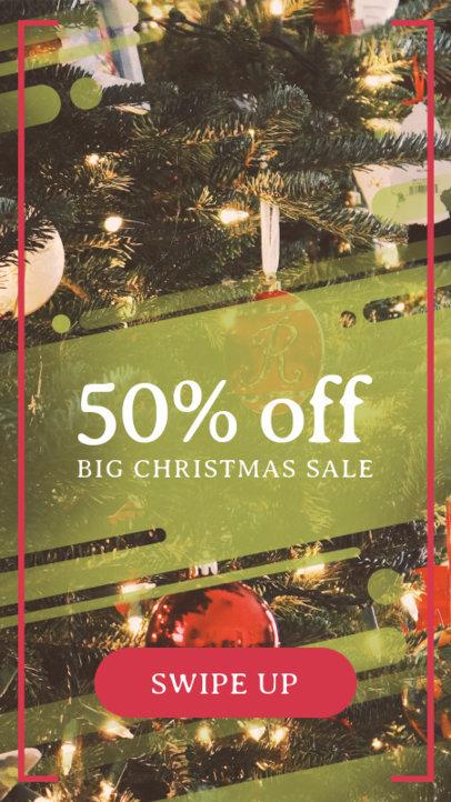 Instagram Story Maker for a Big Christmas Sale 582o-1823