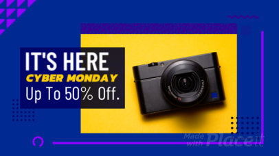Slideshow Template for a Cyber Monday Apparel Promotion 1797a-163