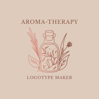 Alternative Medicine Logo Maker for Aromatherapy Products 2578e