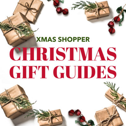Holiday Facebook Post Template for a Christmas Gift Guide 584j 1835