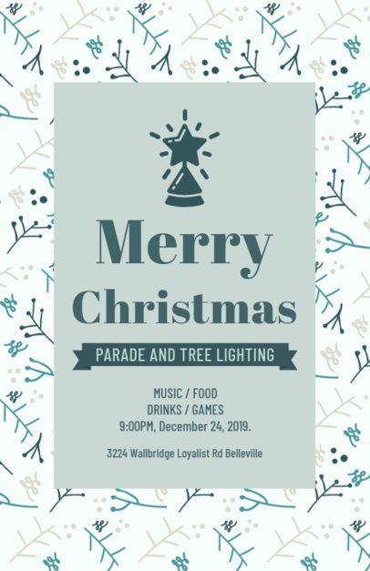 Online Flyer Maker for a Christmas Parade 848k-1837
