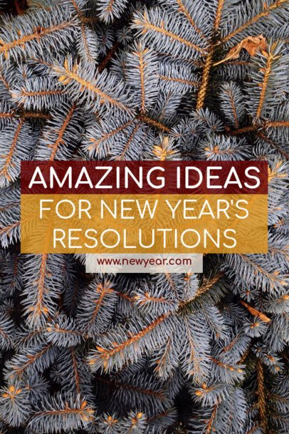 Pinterest Pin Template for New Year's Resolutions Ideas 1122i - 1862