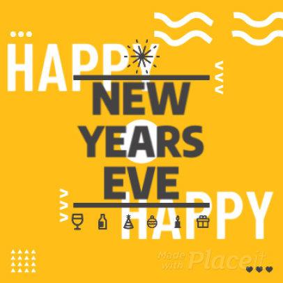 New Year-Themed Instagram Post Video Maker 474