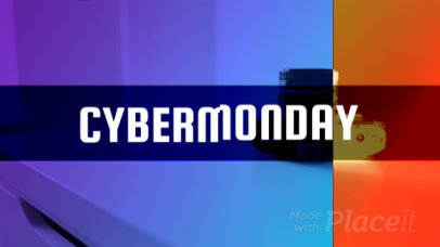 Cyber Monday Intro Maker Featuring Glitch Effects 1643b-136