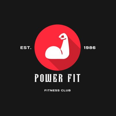 Fitness Club Logo Maker for a Gym 2457i 47-el