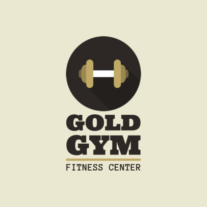 Fitness Center Logo Generator 1347h 47-el