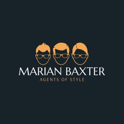 Cool Online Logo Maker for a Hair Salon 1469f 32-el