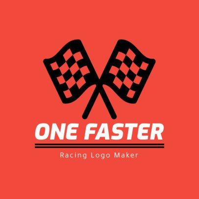Racing Logo Maker Featuring Racing Flags 1648f-43-el