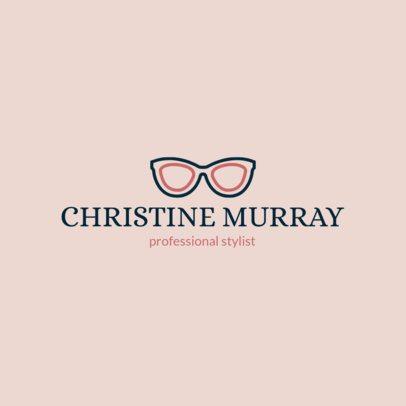Online Logo Design Maker for a Fashion Stylist 1311j 29-el