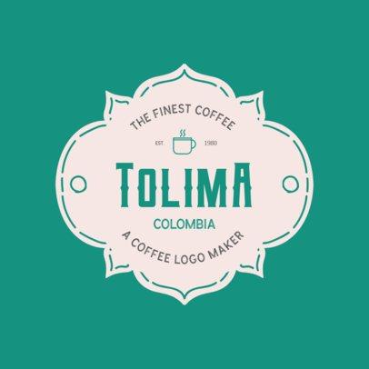 Online Logo Maker for Coffee Brands 949g 46-el