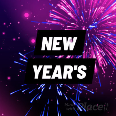 Instagram Video Maker for a New Year's Special Sale 349