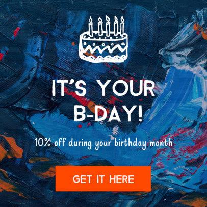 Birthday Promo Online Banner Maker 16614e